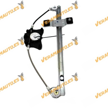Electric Window Operator Audi A3 8P from 2003 to 2008 Rear Left without engine similar to OEM 8P4839461A