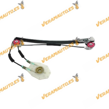 Window Operator Bmw serie 5 E39 from 1995 to 1999 Rear Left without Electric Engine OEM Similar to 51358159835