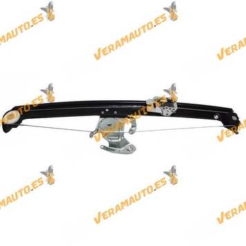 Window Operator BMW X5 E53 from 2000 to 2006 Rear Left without Engine OEM Similar to 51357125059