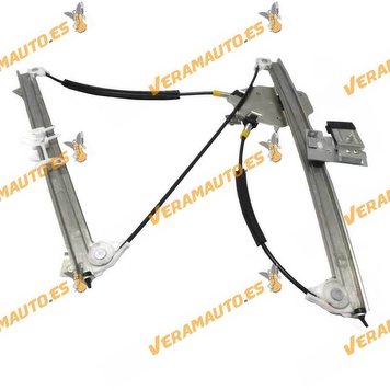 Electric Window Operator BMW X3 E83 from 2003 to 2010 Front Right without Engine OEM Similar to 51333448250