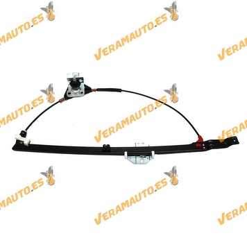 Window Operator Transporter T4-Caravelle-Multivan from 1990 to 2003 Front Left Manual OEM Similar to 701837501F