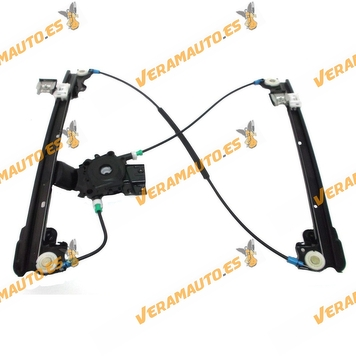 Window Operator Land Rover Freelander 1998 to 2006 Mechanism Front Left without Engine 3 -5 Puertas OEM Similar to CUH000032