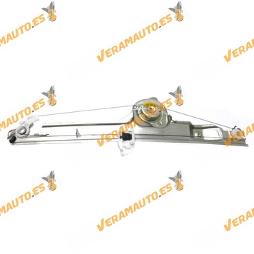 Electric Window Operator Renault Scenic from 2003 to 2009 Front Left without Engine OEM Similar to 8200118777 8200478613