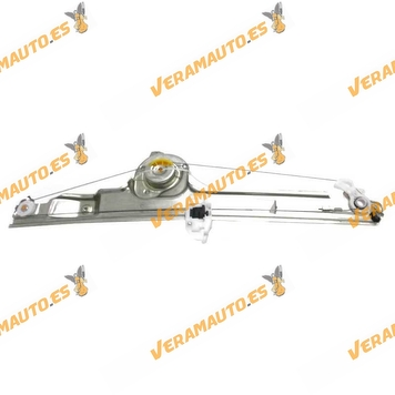 Electric Window Operator Renault Scenic from 2003 to 2009 Front Left without Engine OEM Similar to 8200118775 8200478611
