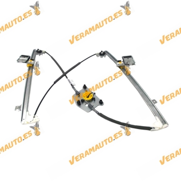 Electric Window Operator Volkswagen Passat from 2005 to 2010 Front Right without Engine OEM Similar to 3C1837462H