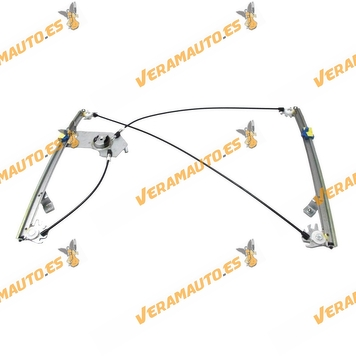 Electric Window Operator Renault Clio from 2005 to 2012 Front Left without Engine 2 Doors OEM Similar to 8200826169