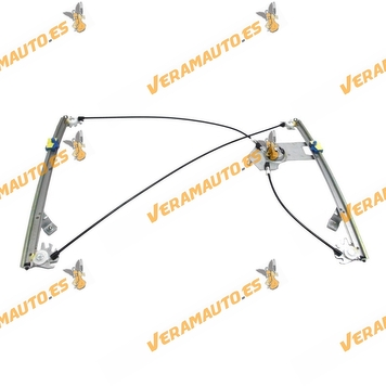 Electric Window Operator Renault Clio from 2005 to 2012 Front Right without Engine 3 Doors Model OEM Similar to 8200291148