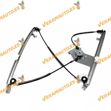 Electric Window Operator Renault Clio from 2005 to 2012 Front Left without Engine 5 Doors Model OEM Similar to 8200291148