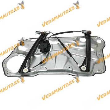 Electric Window Operator Volkswagen Golf IV and Bora from 1998 to 2004 Front Left with Plate 4 Doors OEM Similar to 1j4837461