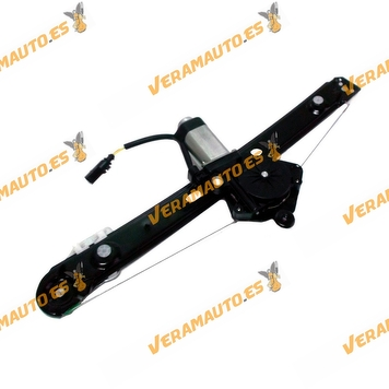 Electric Window Operator BMW E46 Serie 3 from 1998 to 2005 with Engine Complete Rear Right OEM Similar to 51358212100