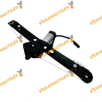 Electric Window Operator BMW E46 Serie 3 from 1998 to 2005 with Engine Complete Rear Left OEM Similar to 51358212099