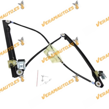 Electrical Window Operator Seat Toledo Leon from 1999 to 2005 Front Right without Engine OEM Similar to 1M0837462