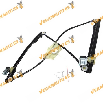 Electric Window Operator Seat Toledo Leon from 1999 to 2005 Front Left without Engine OEM Similar to 1M0837461