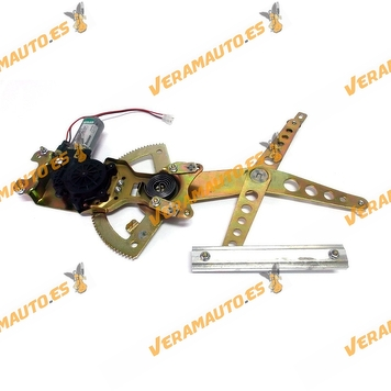 Electric Window Operator Opel Astra G from 1998 to 2004 Front with Engine 2 Pins 4 Doors