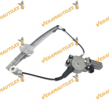 Electric Window Operator Fiat Seicento from 1998 to 2000 Front Right with Engine 2 Doors OEM Similar 46512241