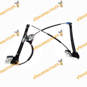 Window Operator Volkswagen Polo from 1994 to 2001 Manual 4 Doors Front Right OEM Similar to 6K4837402M