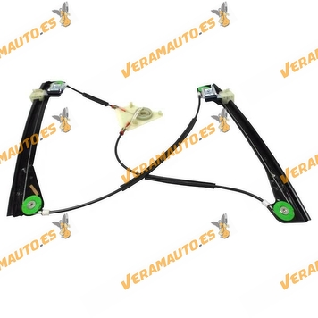 Window Operator Front Right Volkswagen Polo from 2001 to 2009 2 Doors without Engine OEM Similar 6Q3837462G