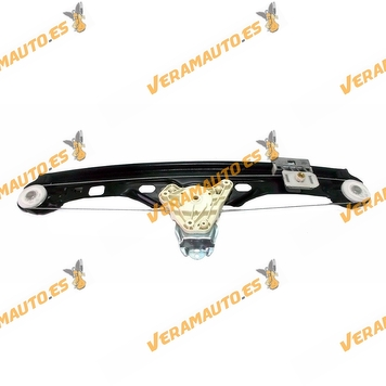 Window Operator Mercedes Class C W203 from 2000 to 2004 Rear Right without Engine OEM Similar to 2037300446