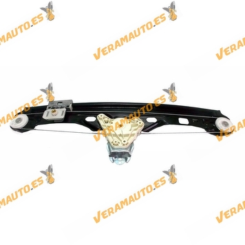 Window Operator Mercedes Class C W203 from 2000 to 2004 Rear Left without Engine OEM Similar to 2037300346