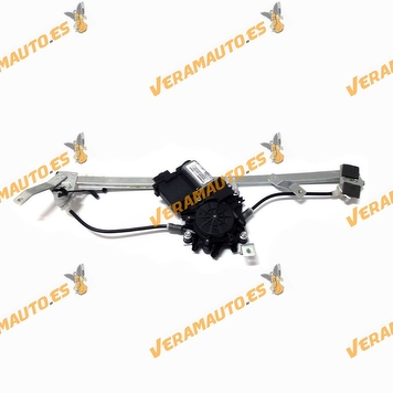Electric Window Operator Renault Scenic from 2003 to 2009 Front Left Complete with Engine Confort 6 Pin OEM 8200010937