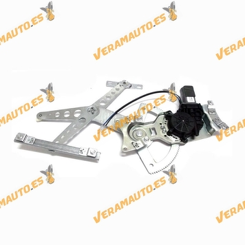 Electric Window Operator Opel Corsa from 2006 to 2011 Front with Engine 2 pin Right 4 Doors OEM Similar to 5140040