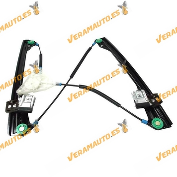 Window Operator Front Right Volkswagen Polo from 2001 to 2009 Electric 4 Doors without Engine OEM Similar to 6Q4837462