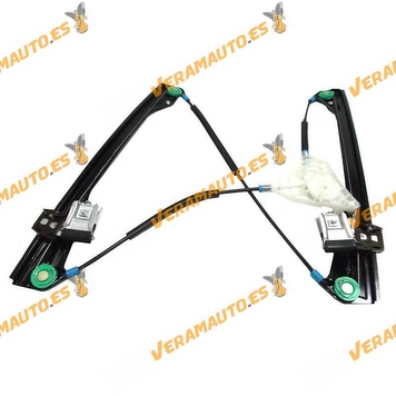 Window Operator Volkswagen Front Left Polo from 2001 to 2009 Electric 4 Doors without Engine OEM Similar to 6Q4837461