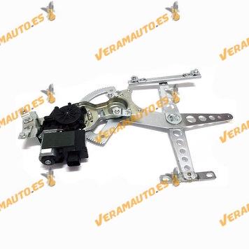 Elevalunas Opel Corsa C de 2000 a 2006 Delantero Derecho con Motor Confort 7 Pines 2 Puertas OEM Similar 5140038 9196402
