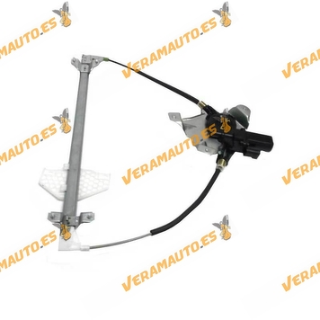 Window Operator Ford Tourneo Connect from 2002 to 2013 Front Left Electric with Engine OEM Similar to 1493637 4523921