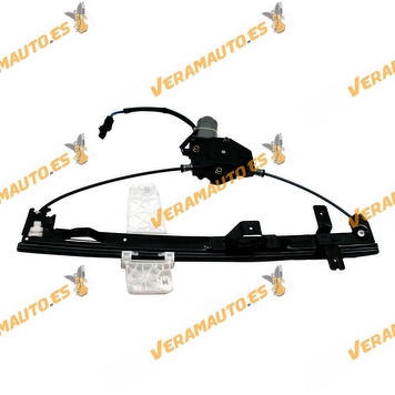 Electric Window Operator Jeep Grand Cherokee from 1999 to 2005 Front Right with Engine OEM Similar to 55076466AB 55076466AC