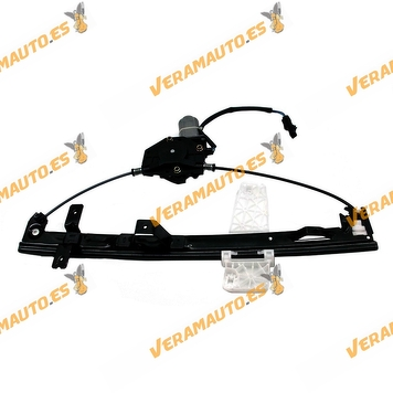 Electric Window Operator Jeep Grand Cherokee from 1999 to 2005 Front Left with Engine OEM Similar to 55076467AB 55076467AC