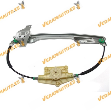 Electric Window Operator Citroen C4 from 2004 to 2010 Front Right without Engine OEM Similar 9222v0 997425205