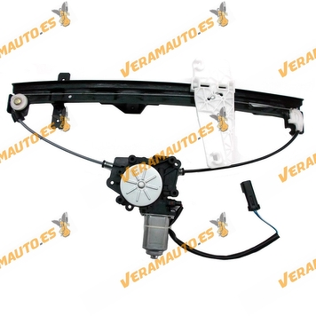 Electric Window Operator Jeep Grand Cherokee from 1999 to 2005 Front Left without Engine Similar to OEM 55363287AA 55363287AB