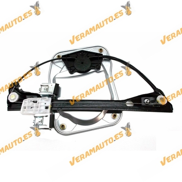 Electric Window Operator Electrico Skoda Fabia from 2007 to 2010 Front Left with Plate without Engine OEM Similar 5J4837461