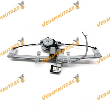 Electric Window Operator Ford Fusion from 2002 to 2012 Front Right with Engine 2 pins OEM similar to 1225874 1553149