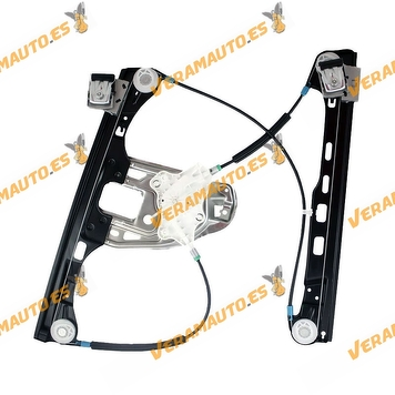 Window Operator Mercedes W203 Class C from 2004 to 2007 Front Right 4 Doors without Engine OEM Similar 2037203246
