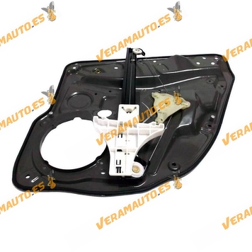 Window Operator Volkswagen Golf IV and Pick up Variant Bora Rear with Left Plate OEM Similar to 1J4839461D 1J4839461A