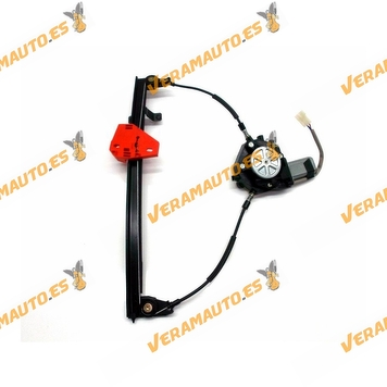 Electric Window Operator Ford Fiesta from 1996 to 2002 Front Right Complete with Engine OEM Similar to 1022280