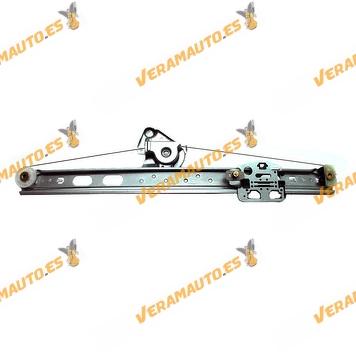 Elevalunas Mercedes Clase ML W163 de 1998 a 2005 Trasero Derecho Electrico sin Motor OEM Similar 1637300246