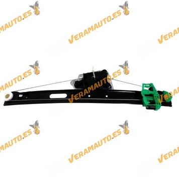 Electric Window Operator BMW Serie 3 E90 y E91 from 2005 to 2009 Rear Right without Engine OEM Similar to 51357140590