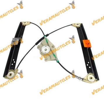 Window Operator Volkswagen Touareg and Porsche Cayenne from 2002 to 2010 Rear Right without Engine OEM Similar to 7L0839462