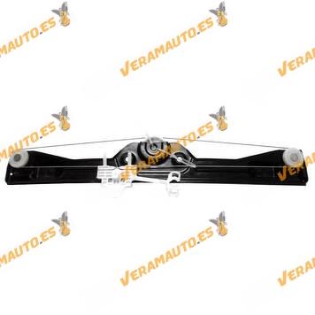 Elevalunas Fiat Grande Punto 2005 al 2009 y Evo Delantero Izquierdo 3 y 5 Puertas sin Motor Sistema Confort OEM Similar 51723318