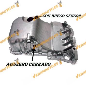 Carter de aceite Audi A4 A6 Volkswagen Passat 1.8 turbo OEM 058103598D 058103603D 058103598B