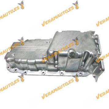 Carter de Aceite Opel Astra Corsa Vectra Zafira Tigra Motores 1.4 y 1.6 16v sin Hueco Sensor Aceite OEM Similar 90412847
