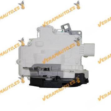 Cerradura De Puerta Seat Altea| XL |Toledo III De 2004 a 2010 Trasera Derecha Mecanismo Interior | 7 pines | OEM 1P0839016A