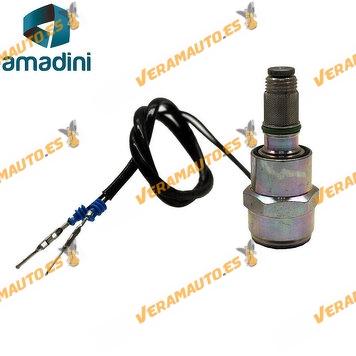 electrovalvula Corte Inyección Combustible Renault  Clio II Kangoo Trafic 1.9D Bomba Inyectora Delphi y Lucas 9108-147C