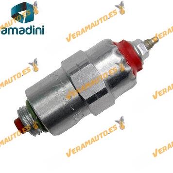 Electrovalvula Solenoide Para Bomba Inyectora Delphi Lucas CAV OEM Similar 9108073A 9108-073A