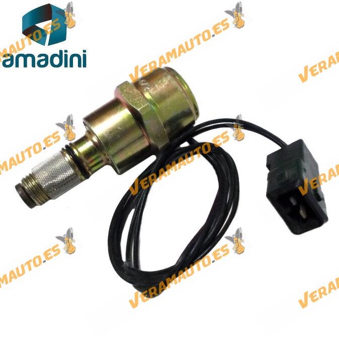 Electrovalvula solenoide para bomba inyectora Delphi o Lucas de Mitsubishi Carisma Volvo S40 V40 1.9 td  di d similar 9108154bi