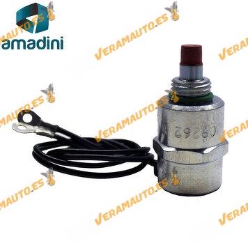 Electrovalvula solenoide para bomba inyectora delphi lucas de psa Fiat Ford Mitsubishi Renault Skoda Volkswagen similar 9109262i