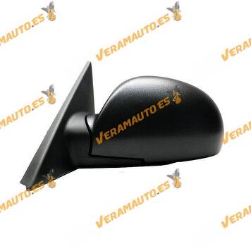36000703 Espejo Retrovisor Hyundai Accent De 2002 a 2006 Mecanico Negro Izquierdo Similar a OEM 8761025720